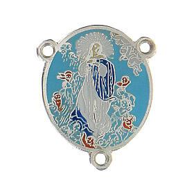 Cruce esmaltado Virgen María s1