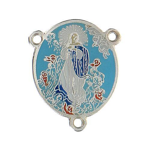 Médaille émaillée Assomption de Marie 1