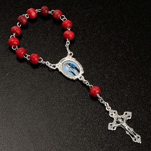Rose scented decade rosary 2