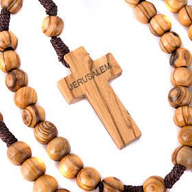 Holyland olive wood rosary s3