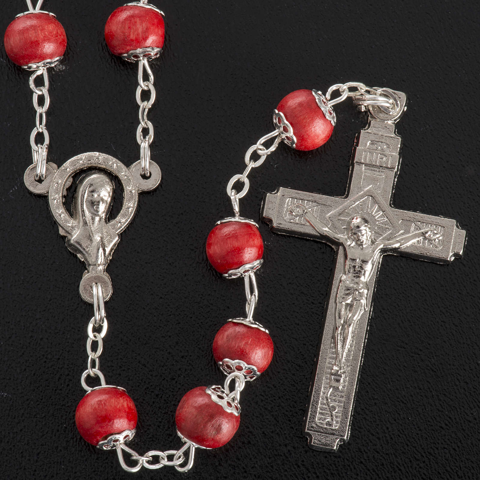 Rose-scented rosary with copiglia beads 4