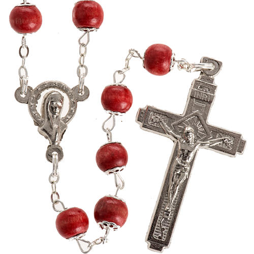Rose-scented rosary with copiglia beads 1