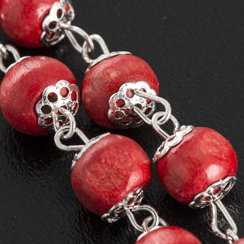 Rose-scented rosary with copiglia beads 3