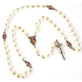 Rosario simil perla immagini (diam. 20) s6