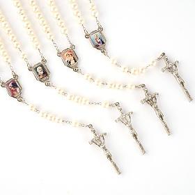Chapelet avec perles, images, diam. 14 cm s1