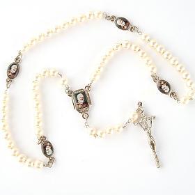 Chapelet avec perles, images, diam. 14 cm s2