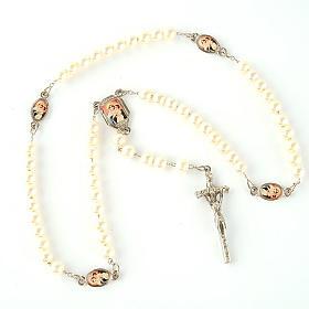 Chapelet avec perles, images, diam. 14 cm s4