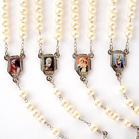 Chapelet avec perles, images, diam. 14 cm s6
