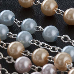 Glass pearl rosary s5