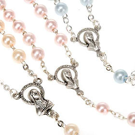 Glass pearl rosary s7