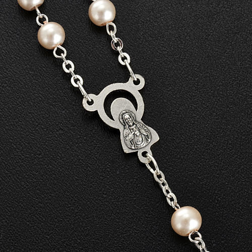 Glass pearl rosary 3