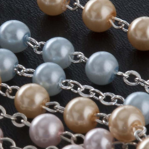Glass pearl rosary 5
