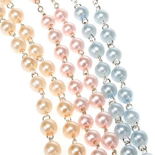 Glass pearl rosary 6