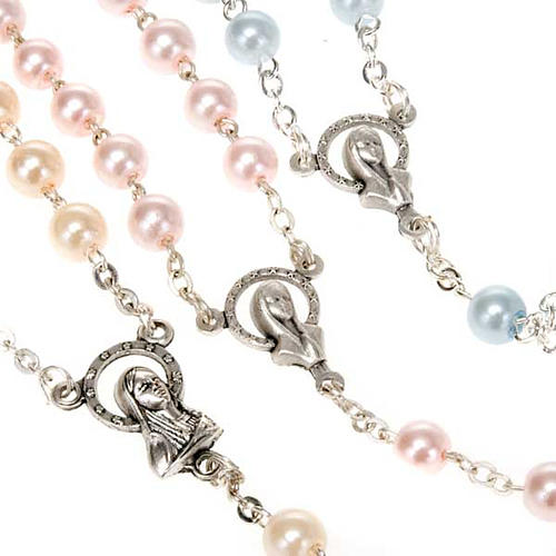 Glass pearl rosary 7