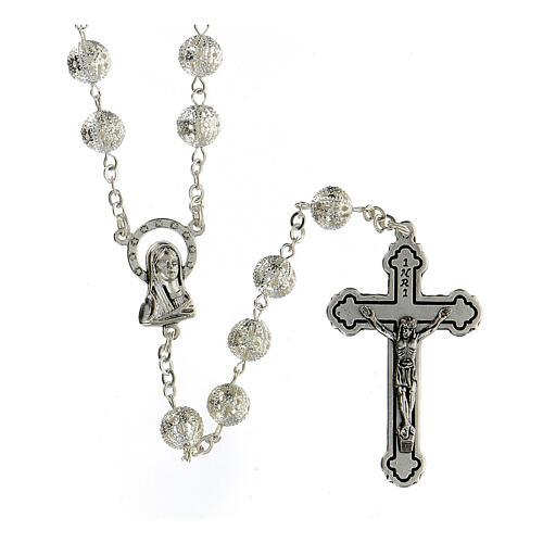 Filigree rosary 8 mm 1