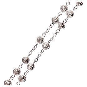 Metal filigree rosary 6 mm s3