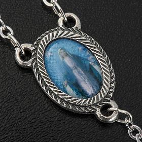Metal filigree rosary 6 mm s4