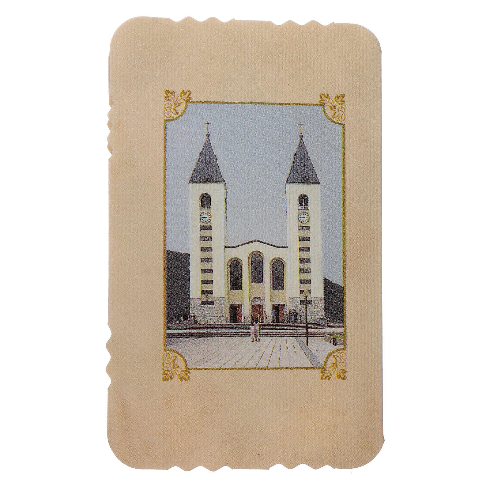 Rosario con librito Virgen de Medjugorje y secretos, rosario 4