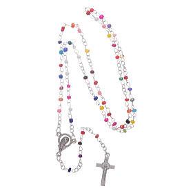 Rosario con librito Virgen de Medjugorje y secretos, rosario s4