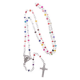 Rosario con pieghevole Madonna di Medjugorje e misteri rosario s4