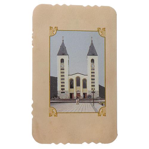 Rosario con pieghevole Madonna di Medjugorje e misteri rosario 2