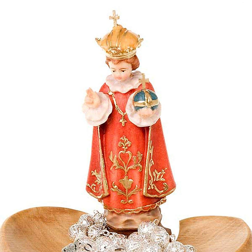 Gesù Bambino Praga portarosario da tavolo 4
