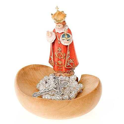 Gesù Bambino Praga portarosario da tavolo 3