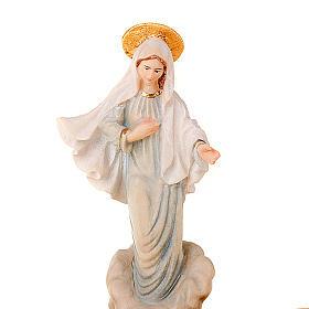 Madonna di Medjugorje portarosario da tavolo s2