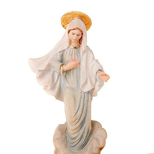 Madonna di Medjugorje portarosario da tavolo 2