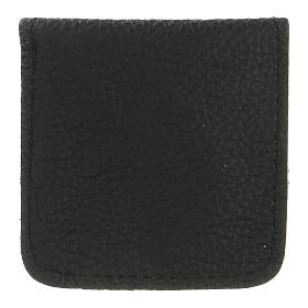 Leather rosary case black s3