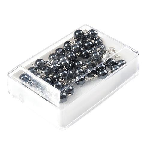 Caja rosario cuentas 6 mm 2