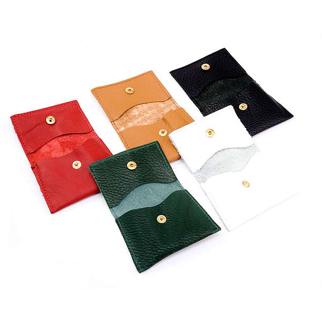 Étui pour chapelet, pochette en cuir personnalisable 4