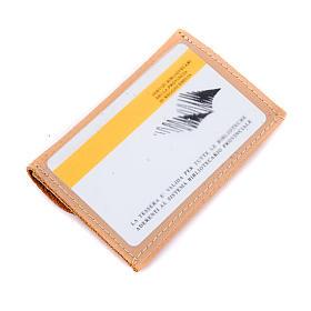 Portarosario portacard pelle personalizzabile s4