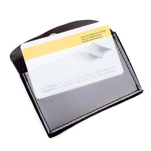 Portarosario portacard pelle personalizzabile 3
