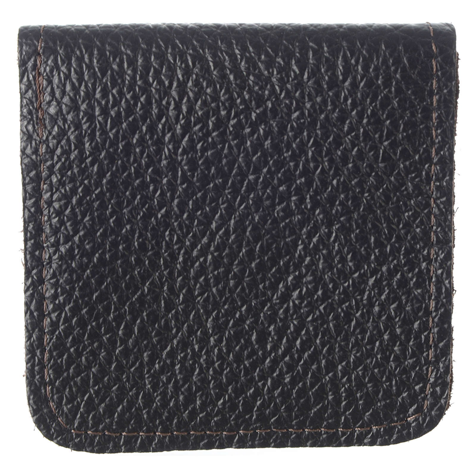 Leather rosary case, brown 4