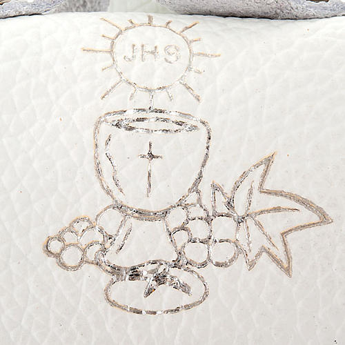 First Communion hand-bag leather rosary case 3