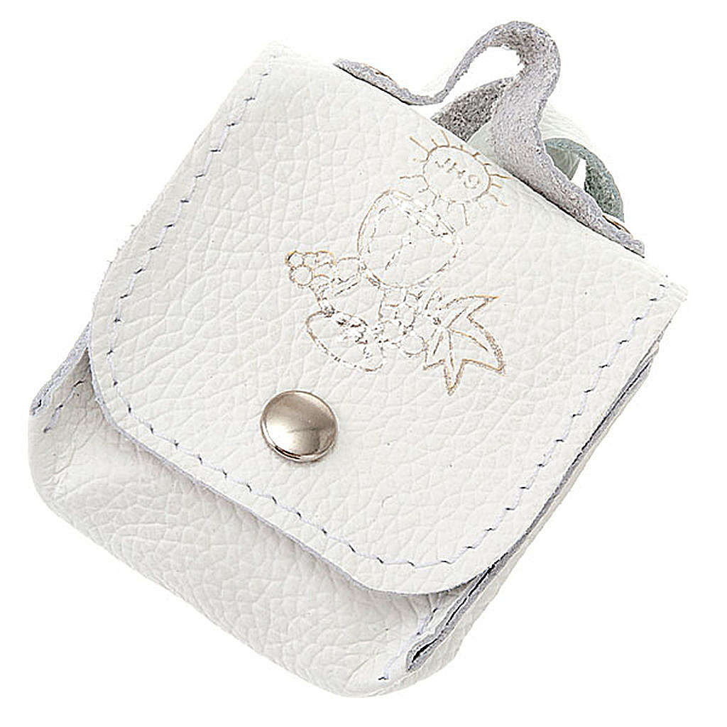 First Communion hand-bag leather rosary case 4