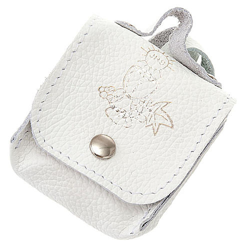 First Communion hand-bag leather rosary case 1
