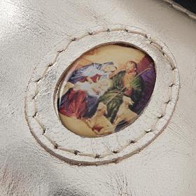 Porte chapelet cuir en forme de petit sac s5