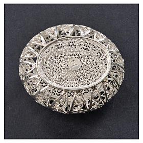Portarosario scatolina filigrana argento 800 s6