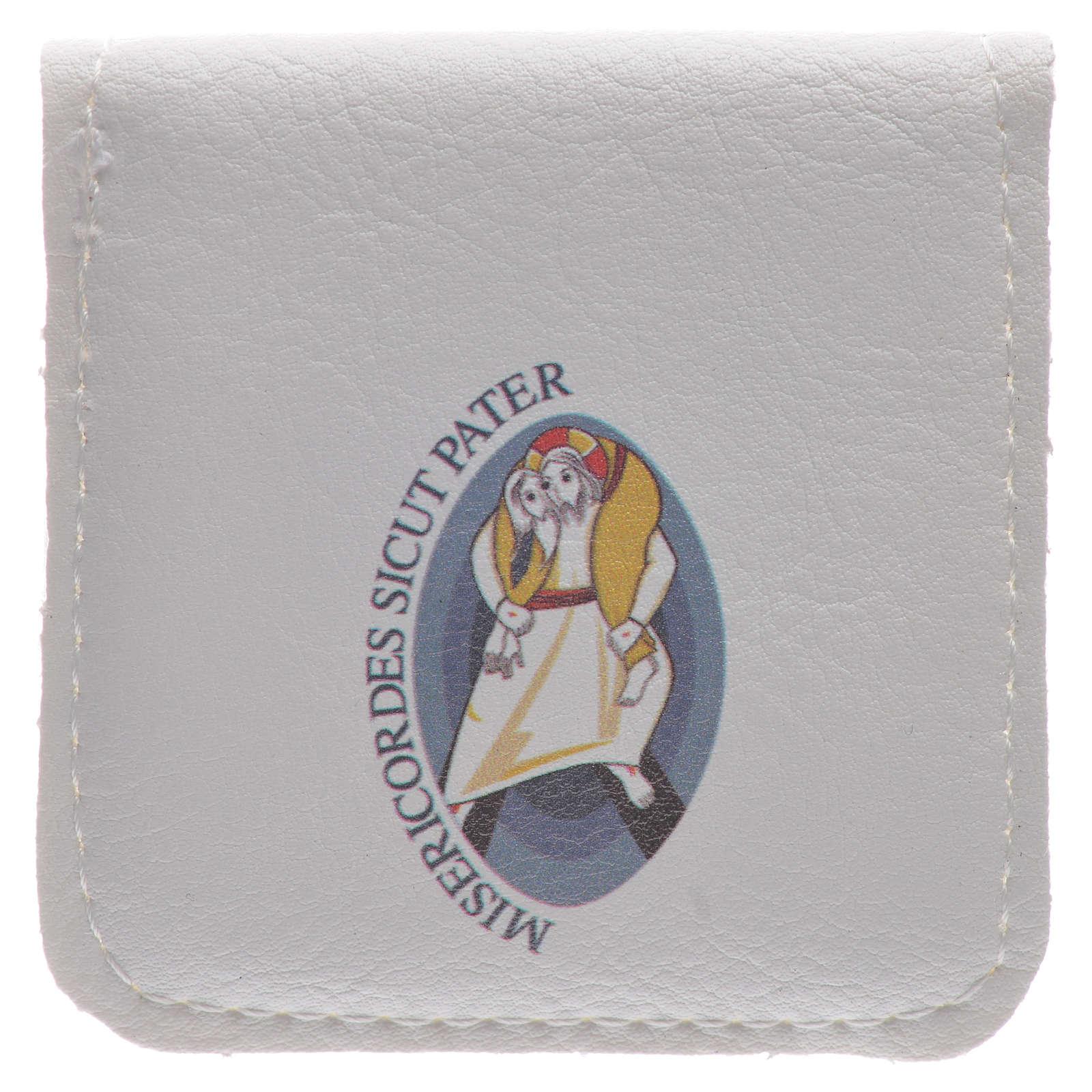 STOCK Étui chapelet logo Jubilé Miséricorde 4
