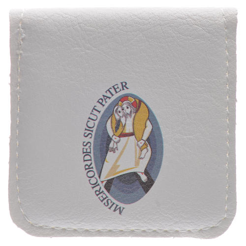 STOCK Étui chapelet logo Jubilé Miséricorde 5