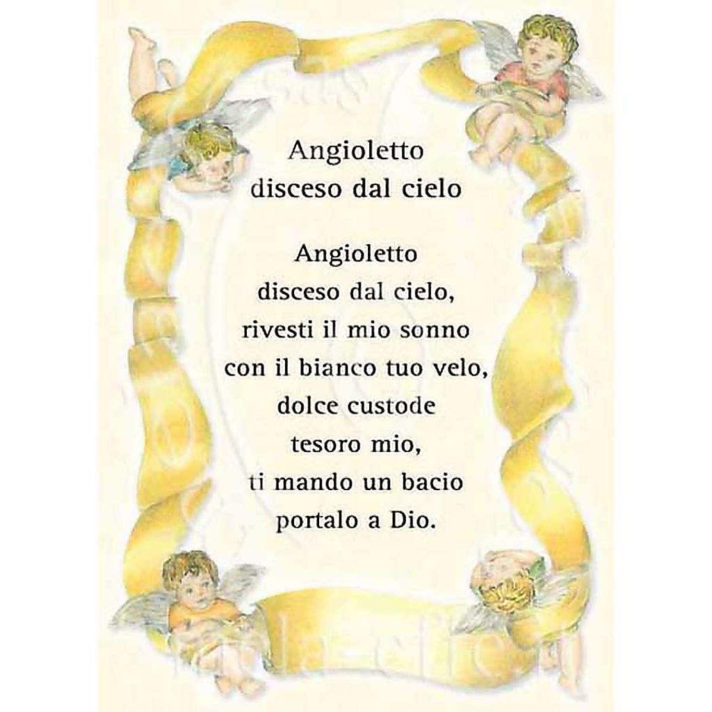 Kartka z życzeniami 'Angioletto disceso dal cielo' 4