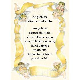 Kartka z życzeniami 'Angioletto disceso dal cielo' s1