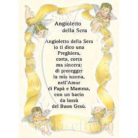 Prayer card, Prayer to the evening Angel s1