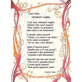 Kartka z życzeniami 'Cuor mio, chiederti voglio' s1