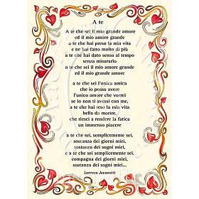 Kartka z życzeniami piosenka 'A Te' Jovanotti s1