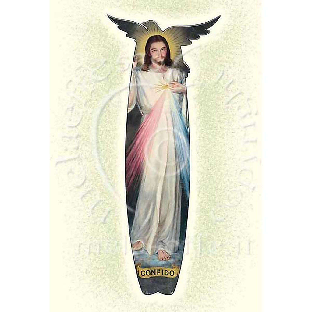 Tarjeta para felicitaciones Jesús de la Misericordia 4
