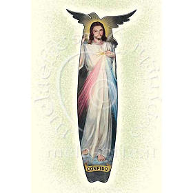 Tarjeta para felicitaciones Jesús de la Misericordia s1