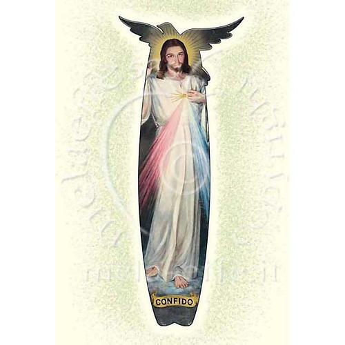 Tarjeta para felicitaciones Jesús de la Misericordia 1